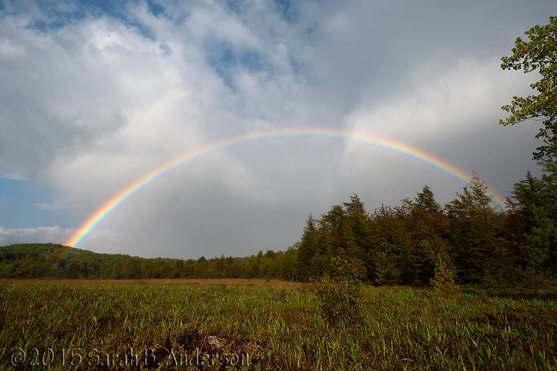 Rainbow over Tucker County, WV