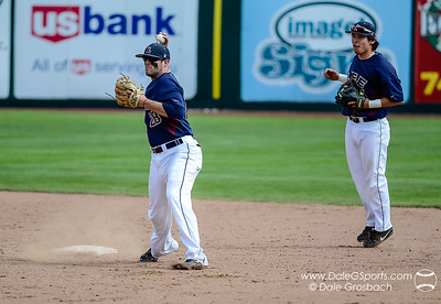 Image #0400   May 28, 2013; Harris Field Complex,Lewiston, ID; Lee (TN) Flames vs. Missouri Baptist Spartans.  Game 14, 57th Annual Avista NAIA Baseball World Series  Mandatory Credit: Dale Grosbach-Dale G Sports