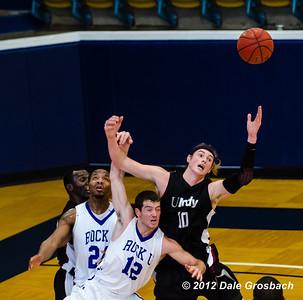 Image #0891  January 5, 2013; Kansas City, MO; University of Indianapolis (IN) Greyhounds Men's Basketball at Rockhurst University (MO) Hawks.  Mandatory Credit: Dale Grosbach-Dale G Sports