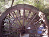 Mill wheel at Topaz Mill, Missouri Ozarks.