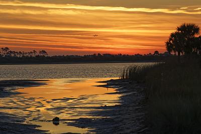 Sunrise over Stoney Bayou #1
