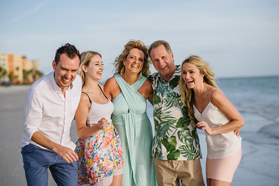Redington Beach Family Portrait Photos