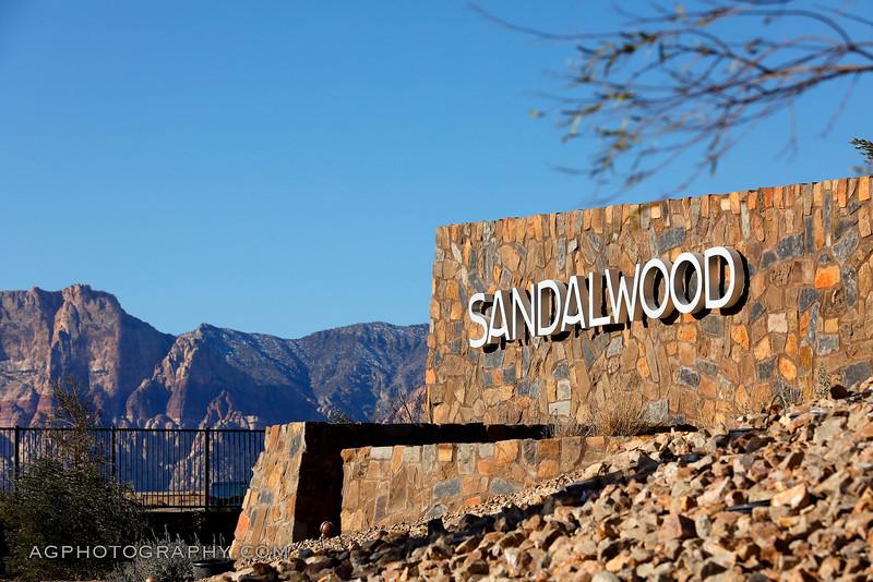 Sandalwood Models by Pardee Homes, Summerlin, NV, 2/10/20.