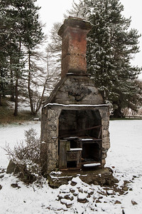 The kitchen chimney from St James old homestead