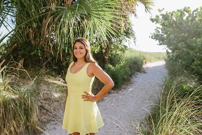 Siesta Key Beach Senior Portraits