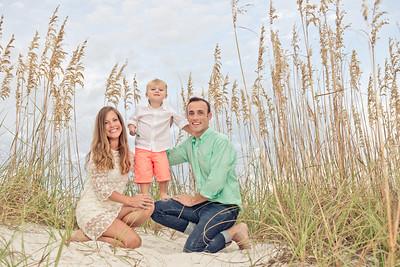 Treasure Island FL St Pete Beach Sirata Beach Resort Family Portraits by St Petersburg Photographer Kristen Sloan