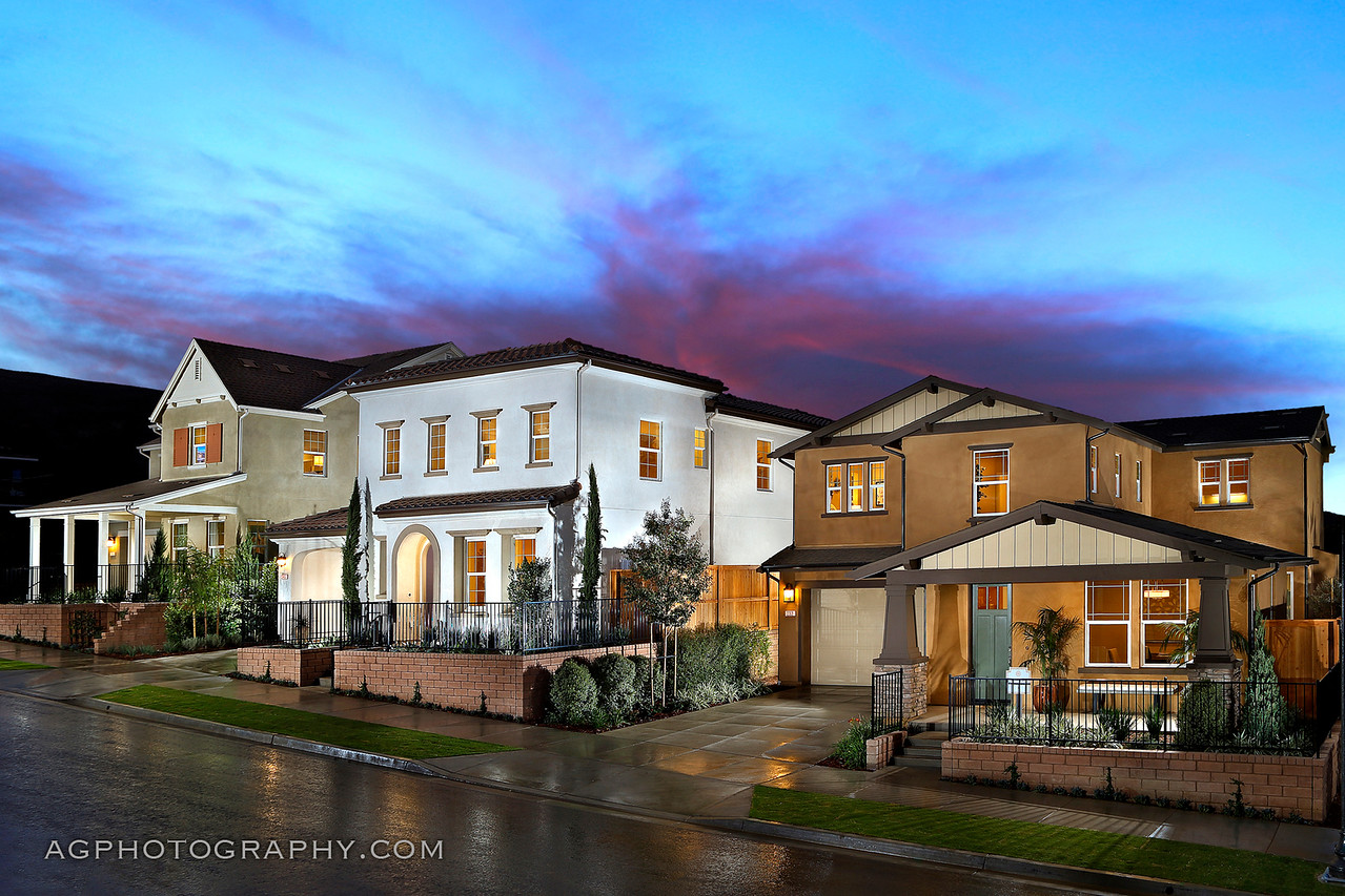 Barcelo at Solana Heights by Cal Atlantic Homes, Ventura, CA, 11/2/17.