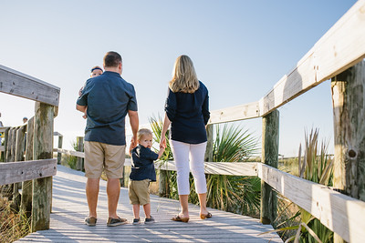 St Pete Beach Family Portraits at Sunset