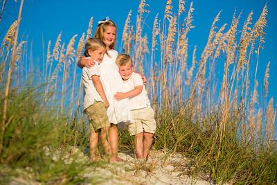 Treasure Island FL St Pete Beach Family Portraits by St Petersburg Photographer Kristen Sloan