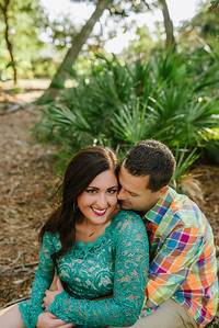 St Petersburg Florida Engagement Couples Portraits