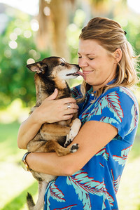 Saint Petersburg Florida Couples Pet Lifestyle Portraits