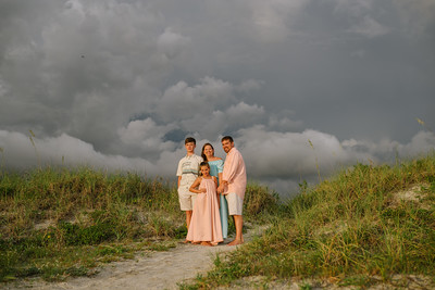 Fort DeSoto StPeteBeach Family Portraits