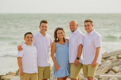 St Pete Beach Family Photos at Pass A Grille Beach