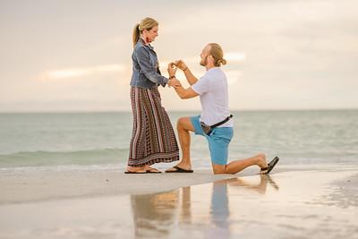 St Pete Florida Wedding Proposal