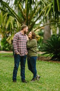 St Pete Florida Couples Engagement Photographer
