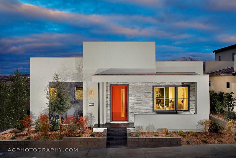 Strada Models by Tri Pointe Homes, Henderson, NV, 1/27/21.
