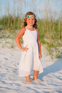 Sunset Vistas Family Beach Portraits in Treasure Island by Kristen Sloan Photography