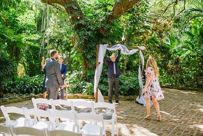 Sunken Gardens St Pete Wedding