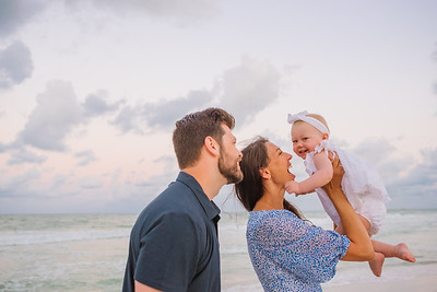 Sunrise Family Baby Photos Anna Maria Island