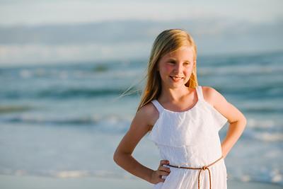 Sunset Beach Family Portraits at Lands End Condos Treasure Island Florida