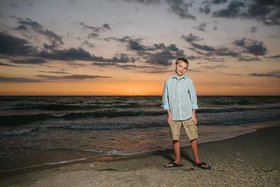 Sunset Beach Family Photographer Treasure Island Florida