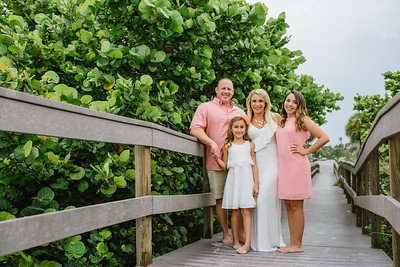 Sunset Vistas Beachfront Suites Family Portraits