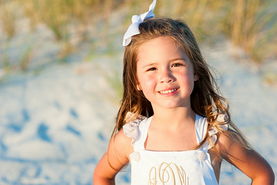 Treasure Island FL Sunset Vistas Beach Family Portraits by St Petersburg Photographer Kristen Sloan