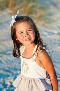 Treasure Island FL Sunset Vistas Beach Family Portraits by St Petersburg Photographer Kristen Sloan