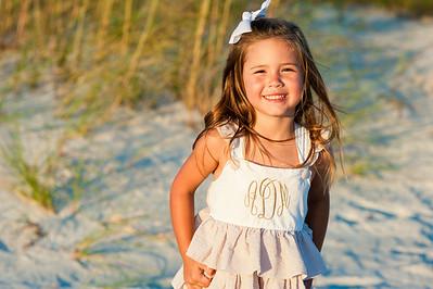 Sunset Vistas Treasure Island Family Beach Portraits