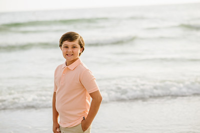Sunset Beach Treasure Island Family Pictures