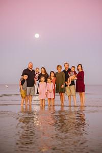 Sunset Vistas Treasure Island Florida Family Photos