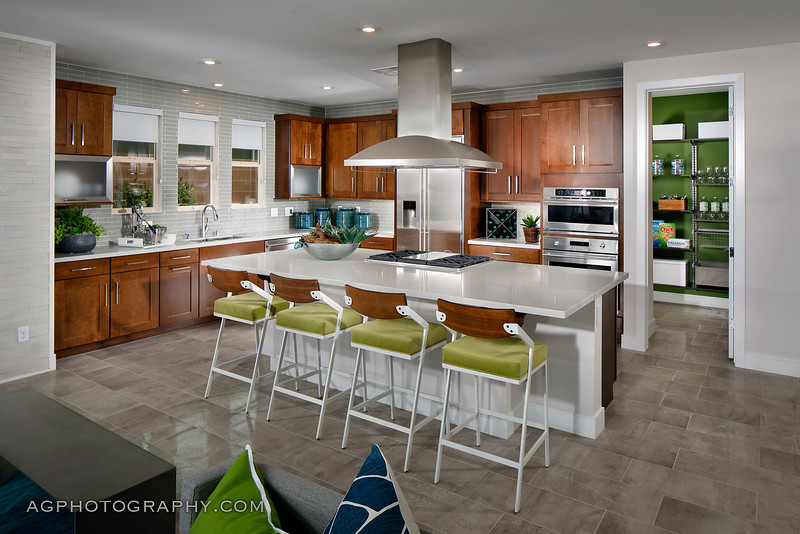 Terra Luna Models by Pardee Homes, Summerlin, NV, 4/20/18.