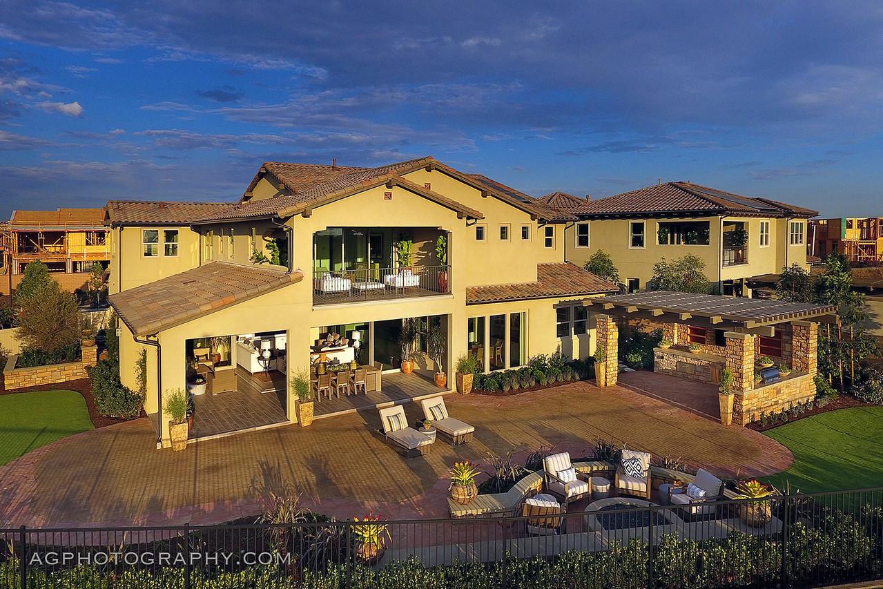 The Peak Models by Cal Atlantic Homes, Walnut, CA, 8/31/17.