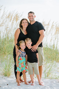 Tradewinds Island Grand Resort Family Kids Portrait Photos at Treasure Island Beach