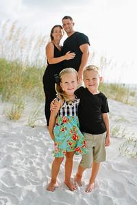 Tradewinds Island Grand Resort Family Kids Portrait Photos at Treasure Island Beach