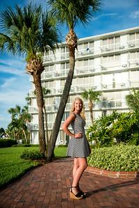 St Pete Beach Tradewinds Resort Senior Portraits by St Petersburg Photographer Kristen Sloan