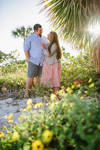 Treasure Island Beach Florida Couple Portraits