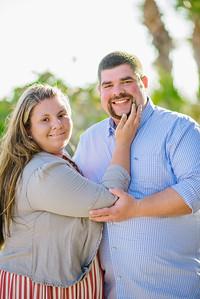 Treasure Island Beach Florida Couple Portraits