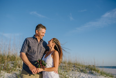 Treasure Island Beach Elopement Intimate Wedding Portraits