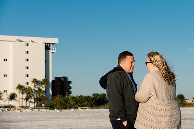 Surprise Beach Wedding Proposal in Treasure Island Florida by Kristen Sloan Photo