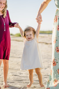 Treasure Island Beach Family Sunset Portraits