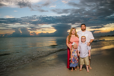 Treasure Island Beach Family Portraits