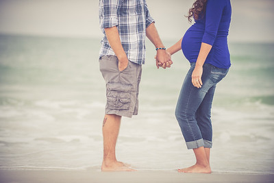 Treasure Island Maternity Pregnancy Couples Portraits