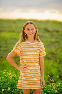 Family Sunset Portraits at Treasure Island Beach Resort