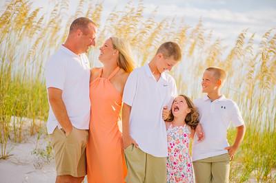Treasure Island Beach Family Sunset Photos