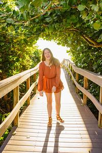 Treasure Island Florida High School Senior Photos
