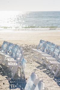 Sunset Beach Treasure Island Wedding by GBW