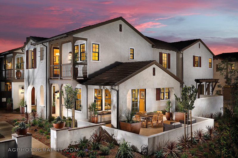 Tree Farm Models by Cal Atlantic Homes, Goleta, CA, 9/28/17.