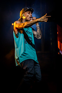 Wiz Khalifa Performs in Toronto