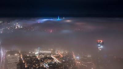 Fog & Midtown